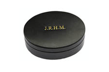 Black Oval  Cufflink/Earring Box