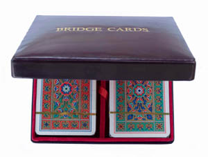 Bridge Card Box