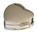 Carrs silver heart box