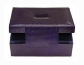 Deep Purple Jewellery Box