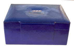 Royal Blue Memory Box