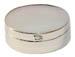 Small Silver Oval Pill Box