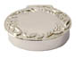 Small Silver Oval Garland Box