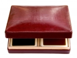 Burgundy Card Box