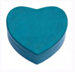 Heart-Shaped Leather Box
