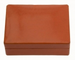 Oblong Leather Box