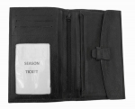 Soft Hide Compartment Wallet