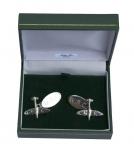 Sterling Silver RAF Spitfire Cufflinks