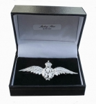 Sterling Silver RAF Brooch