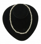 Triple Twist Freshwater Pearl Necklace
